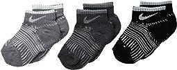 Nike Kids - 3-Pair Pack Print Low Socks (Toddler)