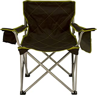 TravelChair Big Kahuna Chair, Supersized Camping Chair, 800lb Capacity, Black