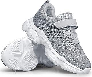 کفش بچه گانه MURDESOT کفش مخصوص دویدن پسرانه دخترانه ورزشی در حال اجرا کفش ورزشی بند برای کودک نو پا / بچه کوچک / بچه بزرگ