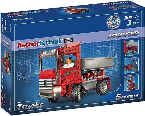 apresurado a ver Fischertechnik Trucks– Diverdeido y Educativo Juego de de de Construcción de Camiones, con 5 Modelos.  están haciendo actividades de descuento