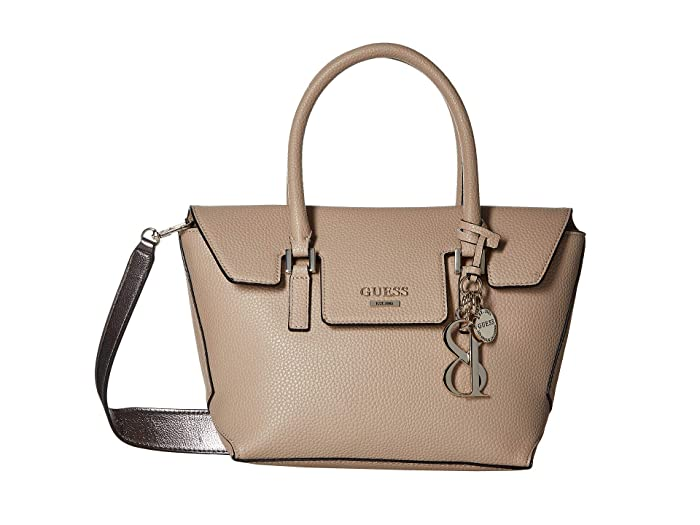 b2f0f89aad00 GUESS West Side Small Flap Satchel at 6pm