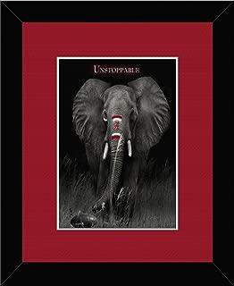 The Houndstooth Factory Alabama Crimson Tide - Unstoppable Framed Artwork 17