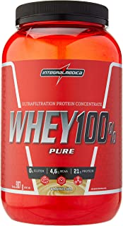 Whey 100% Pure, IntegralMedica, Baunilha, 907 g