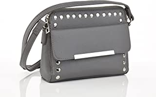 Ashley Blue Series Fashionable Hobo Style Purse Clutch with Studded Design