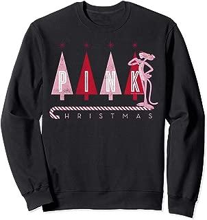 Pink Panther Pink Christmas Portrait Sweatshirt