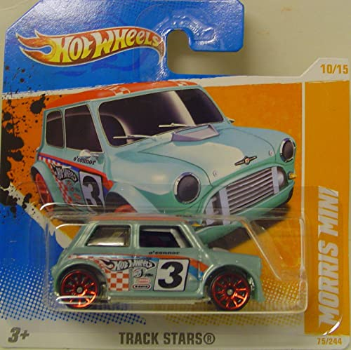 Hot Wheels Morris Mini in Blau