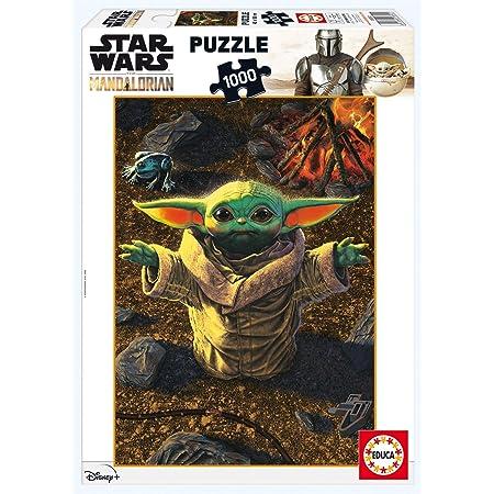 Educa Borras Educa Star Wars The Mandalorian Puzzle Pick Me Up, Please 1000 pièces (11892), 18892, Multicolore