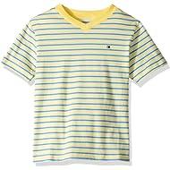 Tommy Hilfiger Boys' Stripe Short Sleeve Tee Shirt