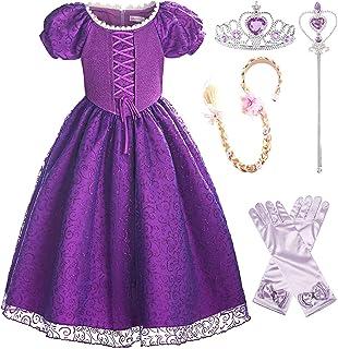 ReliBeauty Girls Princess Lace up Dress Costume