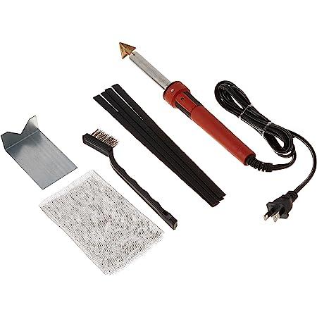 75-Watt Iron PLASTIC WELDING KIT TPO TEO PP Rod Mesh Auto Welder Repair 450° New