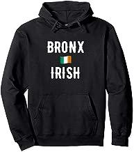 New York Bronx Irish Flag Pullover Sweatshirt Hoodie