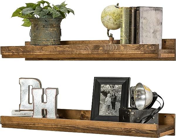 Wall Mounted Wooden Floating Shelves Renewed