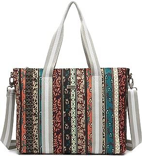 Laptop Bag Tote Waterproof Shoulder Bag for Work Travel Shopping Beach