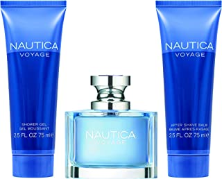 Nautica Voyage 3 Piece Gift Set for Men, 3 count