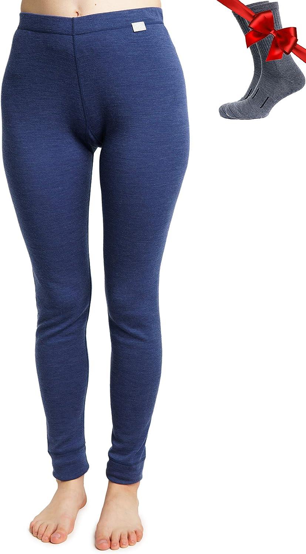 Merino.tech 67% OFF of fixed price Merino Wool Base 100% Layer Pants Womens Beauty products