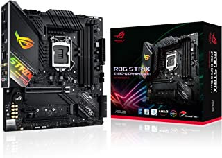ASUS ROG STRIX Z490-G GAMING (WI-FI) (INTEL Z490) (WiFi 6) Z490 LGA 1200 (Intel® 10th Gen) SFF Micro ATX Gaming Motherboar...