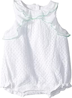 Eyelet Bubble One-Piece (Infant)