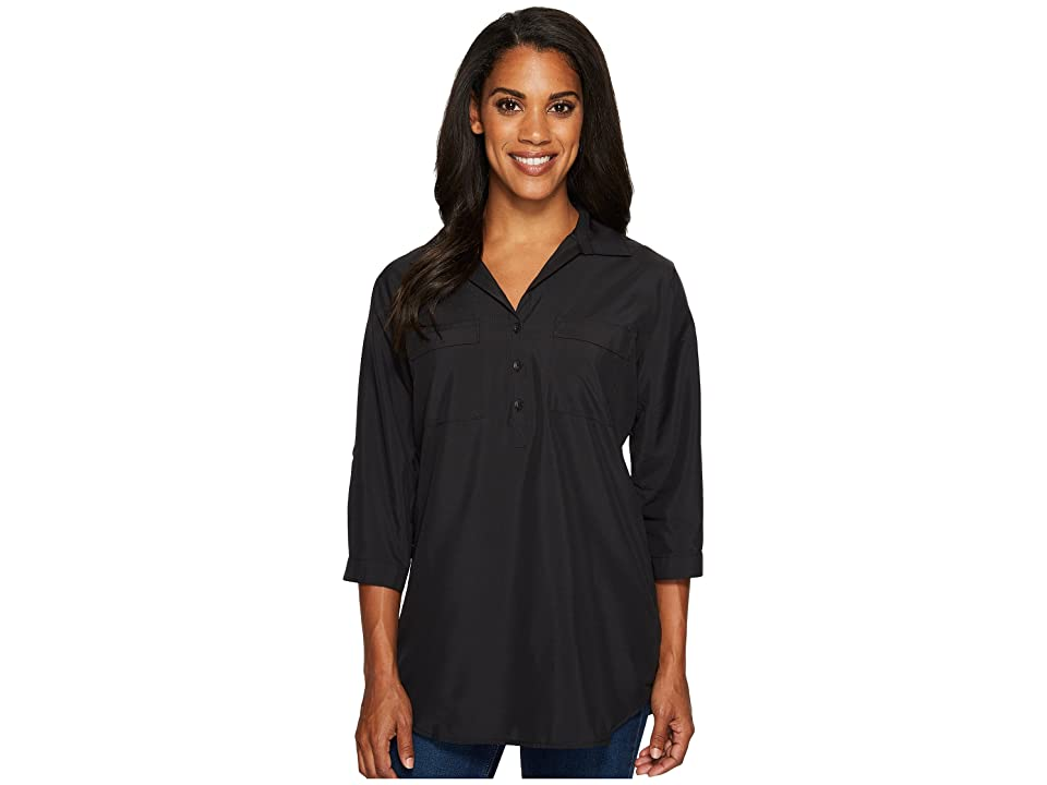 Royal Robbins Expedition Chill Stretch Tunic (Jet Black) Women