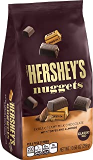 HERSHEY'S Nuggets Chocolate Candy, 10.56 Ounce (Pack of 12)