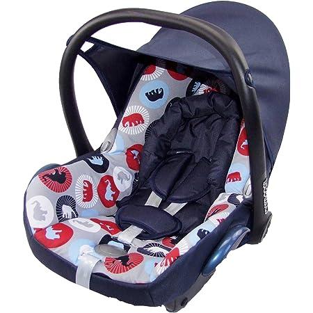 Bambiniwelt Ersatzbezug Für Maxi Cosi Cabrio Fix 6 Tlg Bezug Für Babyschale Sommerbezug Marine Elephanten Baby