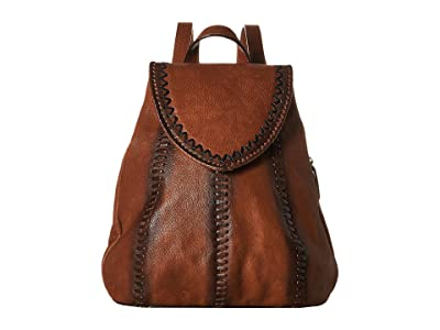 Scully Allesandra Backpack (Tan) Backpack Bags