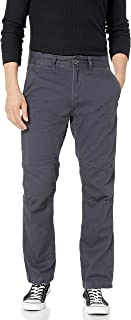 UNIONBAY mens Luca Vintage Twill Utilty 5 Pocket Straight Fit Pant Casual Pants