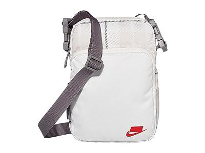 Nike Heritage Small Items Bags 2.0 All Over Print (Phantom/Gunsmoke/University Red) Bags