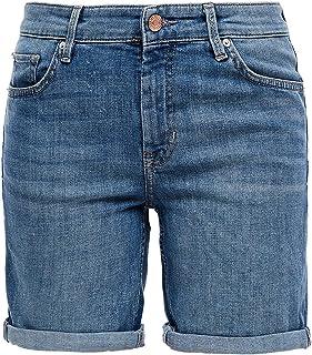 Cross Jeans Damen Jeans-Shorts Zena Slim Fit Größe W27