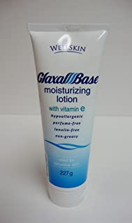 GLAXAL Base MOISTURIZING LOTION Relief for Dry, Chapped & Rough Skin 227 g (8 oz) by WellSkin