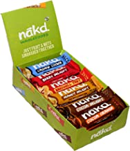 Nākd Bars, Celebration Variety Pack Raw Fruit and Nuts, Gluten Free, 18 Count