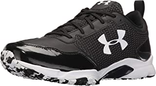 Under Armour Men's Ultimate Turf Trainer Baseball Shoe, Black/Black