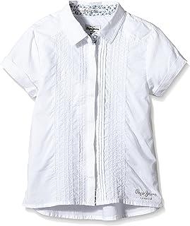 Pepe Jeans London Camisa Casual Charlice Blanco 4 años (104 cm)