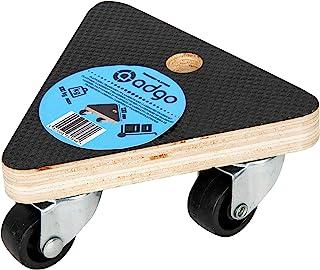 ADGO Driehoekig Transportplatform 130x130x130x17 mm, Gelamineerd Waterdicht, Draagvermogen Tot 100 kg, 360 Graden Zwenkwie...