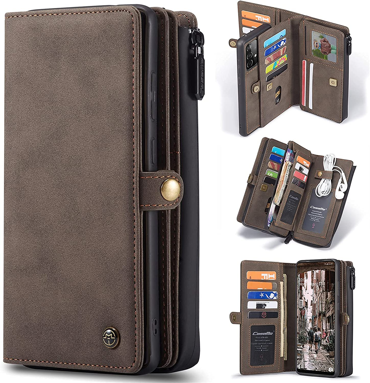 Long Beach Mall cheap GCCBQM Case for A52 5G 4G Leather Wallet Handmade Mini Hand