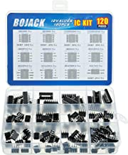 BOJACK 12 Values 120 Pcs Opamp Timer Darlington Phototcoupler LM324 LM339 ULN2003AN ULN2803APG LM358P LM386 LM393 NE5532P ...