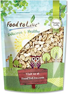 Food to Live Cashew Pieces, 8 Ounces - Kosher, Raw, Vegan, Paleo Friendly, Unsalted, Unroasted, Bulk, Rich In Selenium, Zi...