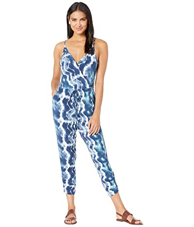 BCBGeneration Tassle Tie Jumpsuit TEG9212198 (Dark Blue) Women