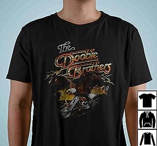The Doobie Brother Eagle Motorcycle Tour Concert Farewell Vintage T Shirt Long Sleeve Sweatshirt Hoodies