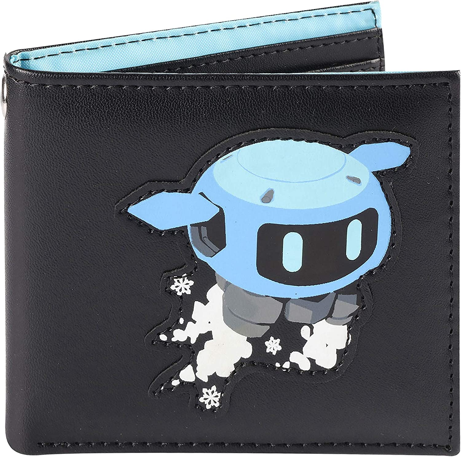 JINX Overwatch Mei Popular brand in the world 'Snowball' Graphic Wallet Black Al sold out. Bi-Fold Sta