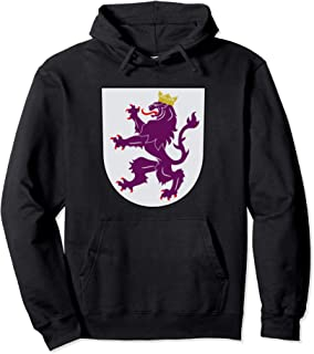 Kingdom of Leon Coat of Arms Crest Spain Portugal History Pullover Hoodie