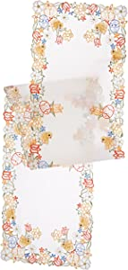 Xia Home Fashions Spring Chicks Table Runner, 15 by 72-Inch