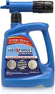 Wet & Forget Roof and Siding Cleaner for Easy Removal of Mold, Mildew and Algae..