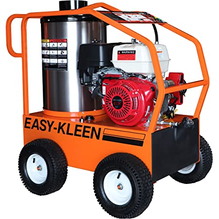Easy-Kleen Professional 4000 PSI (Gas - Hot Water) Pressure Washer with a Genuine Honda Engine with Electric Start (12V Burner)