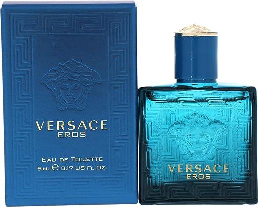 Versace Perfume - Versace Eros - perfume for men - Eau de Toilette, 5ml