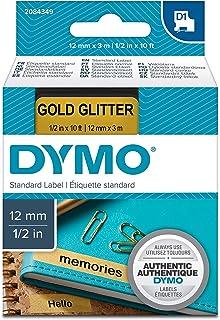 DYMO D1 标签带 12mmx3.0M 黑->金