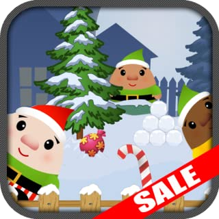 Funny Santas Elf Snowball Fight Christmas Kids Game (Kindle Tablet Edition)