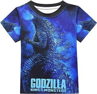 Kids Monster Shirt King Tees for Boys and Girls 6-16 3D Printing Kong Shirt