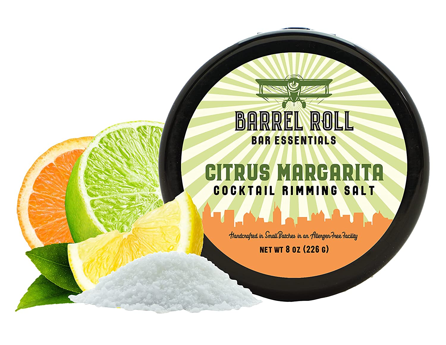 Barrel Roll Bar Essentials New sales A surprise price is realized Cocktail Rimmers - Accessor Bartender