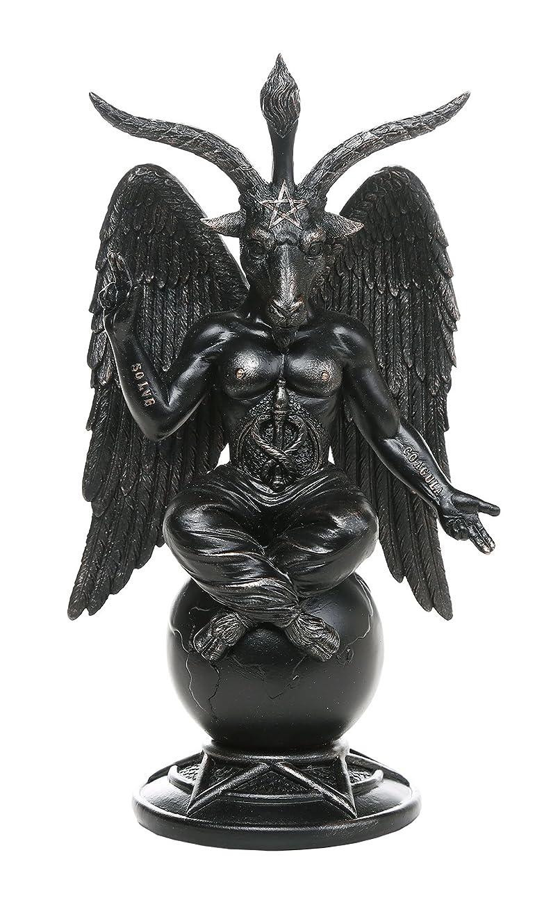 難民通行料金九月バフォメットHorned Sabbatic Goat解決et Coagula Statue 10インチTall