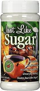 Just Like Sugar, Sweetener, 5.82 Ounce